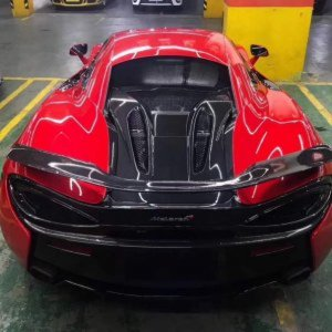Carbon Fiber GT Rear Spoiler Wing For McLaren 540c & 570s