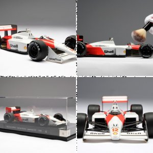 McLaren MP4/4 - 1988 Japanese GP - Ayrton Senna - at 1:18 scale