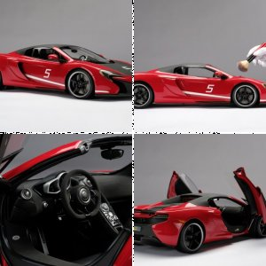 McLaren 650S Can-Am - at 1:8 scale
